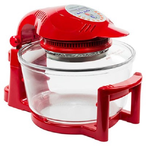 andrew james halo oven red
