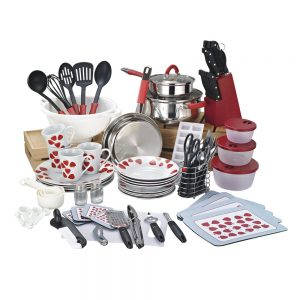 90 pieces cookware and casserole set