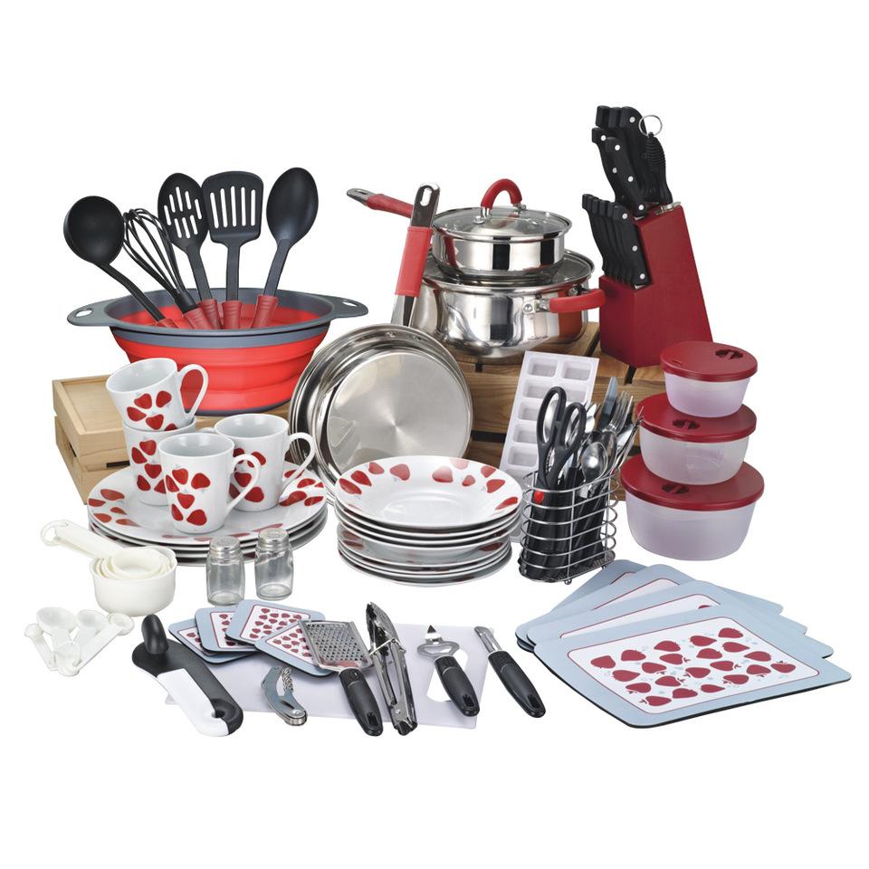 90 pieces cookware set