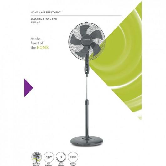 kenwood electric standing fan